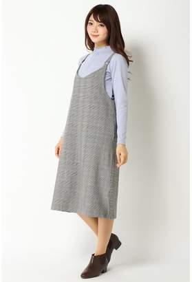 Ikka (イッカ) - [ikka]Vネックジャンパースカート