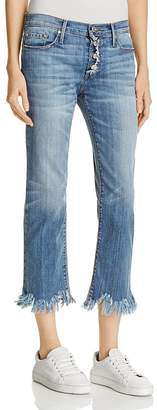 Black Orchid Brooklyn Boyfriend Jeans in Chill Out $180 thestylecure.com