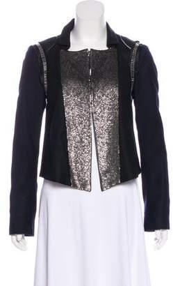 Chloé Embellished Wool Jacket