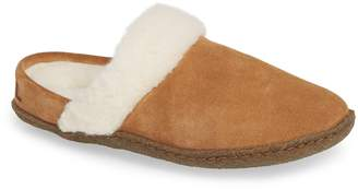 Sorel Nakiska II Faux Shearling Lined Slide Slipper