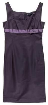 6267 Sleeveless Sheath Dress