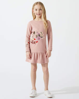 Jigsaw Embroidered Sweater Dress