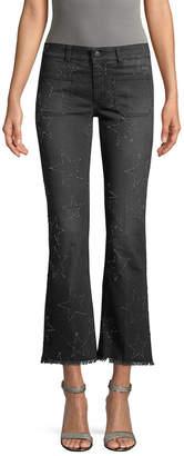 Stella McCartney Star-Patterned Flared Pant