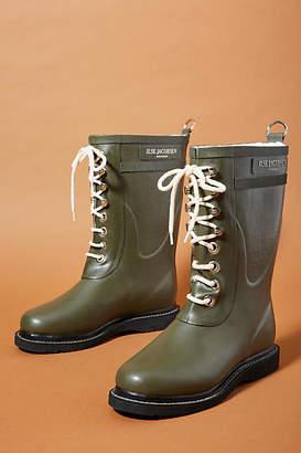 Ilse Jacobsen Lace-up Rain Boots