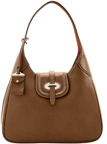 Dooney & Bourke Florentine Toscana Large Hobo Shoulder Bag - ELEPHANT - STYLE