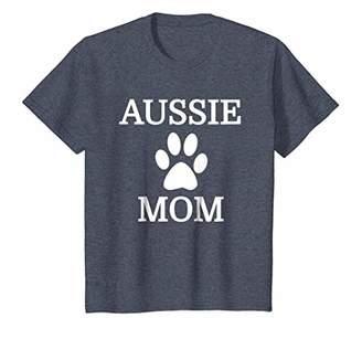 Aussie Mom T-Shirt for Australian Shepherd Lover