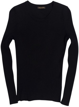 Louis Vuitton Black Viscose Knitwear