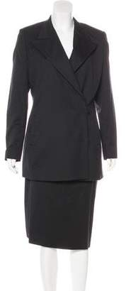 Jean Paul Gaultier Vintage Wool Skirt Suit