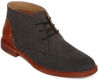 c96ec31aa8ef9 Arizona Mens Barr Chukka Flat Heel Lace-up Boots