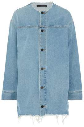 Alexander Wang Distressed Denim Jacket