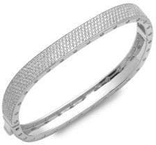 Saks Fifth Avenue Cubic Zirconia Bangle Bracelet
