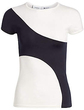 Akris Punto Women's Graphic Color Block Tee