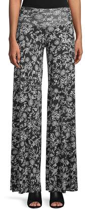 Rachel Pally Women's Printed Wide-Leg Trousers