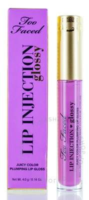 Too Faced / Lip Injection Glossy Plumping Lip Gloss - Like A Boss 0.14 oz