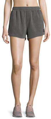 The Upside Paneled Run Double-Fleece Shorts