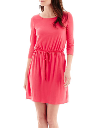 DQT True Color 3/4-Sleeve Knit Dress - Tall $50 thestylecure.com