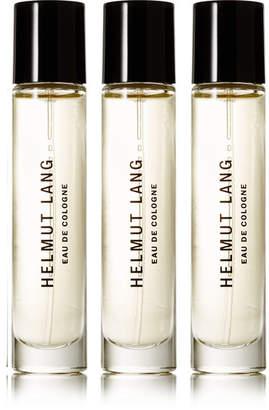 Helmut Lang - Eau De Cologne - Lavender, Rosemary & Artemisia, 3 X 10ml $105 thestylecure.com