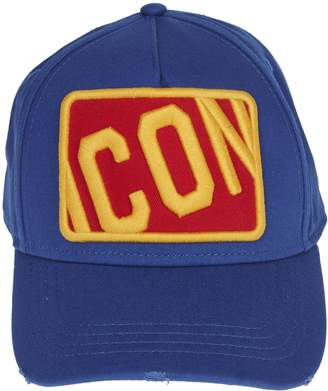 DSQUARED2 Box Icon Baseball Cap Blue