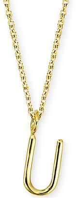"Sarah Chloe Amelia Initial 16"" Pendant Necklace in 14K Gold"