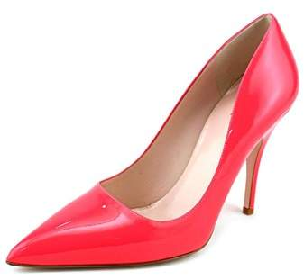 Kate Spade Licorice Pointed Toe Synthetic Heels.