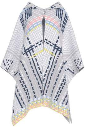 Peter Pilotto Wool And Angora-Blend Knitted Hooded Cape