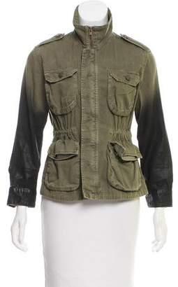 Current/Elliott Canvas Ombré Military Jacket