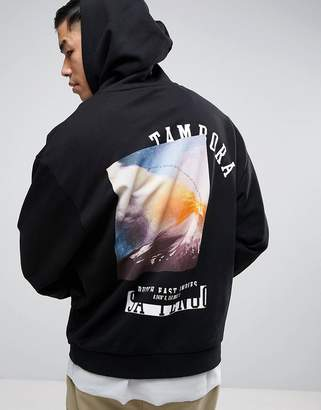 ASOS Oversized Hoodie With Back Print $40 thestylecure.com