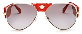 Versace Women's Aviator Sunglasses, 62mm