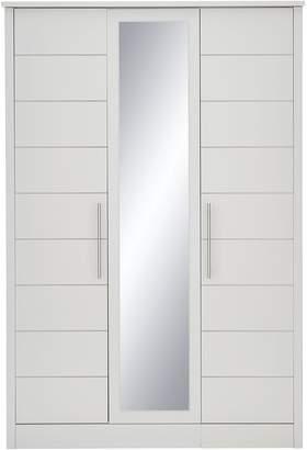 Consort Furniture Limited Liberty 3 Door Mirrored Wardrobe