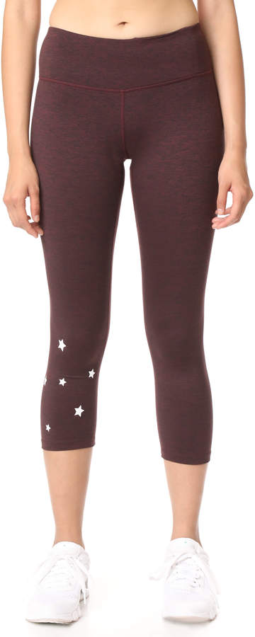 Stars Power Crop Leggings