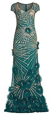 53879dc874fc7c ... Saks Fifth Avenue · Aidan Mattox Women s Beaded A-Line Gown - Size 0