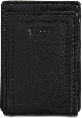 Levi's Men Rfid Leather Front-Pocket Wallet