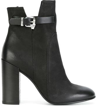 Diesel buckled ankle boots $301.63 thestylecure.com