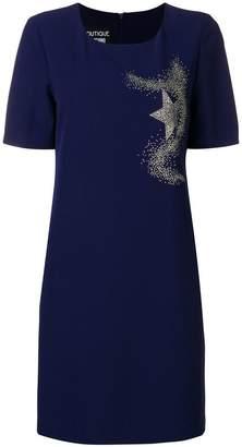 Moschino stud embellished shift dress