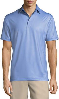 Peter Millar Men's Multi Mini Polka Dot Polo Shirt