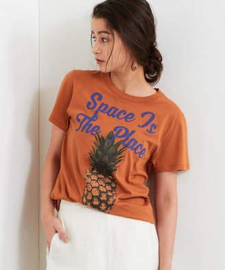 No curfew(ノー カー フュー)pineapple Tシャツ