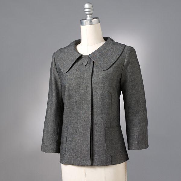 Sag Harbor Lurex® Swing Jacket