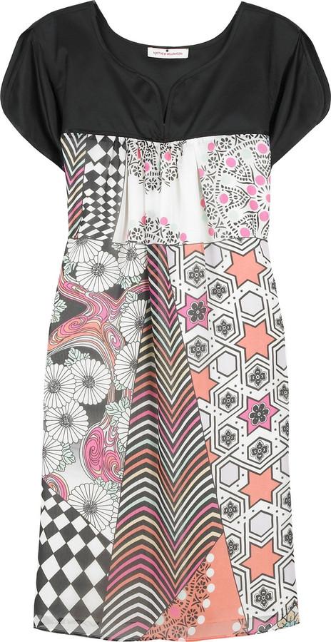 Matthew Williamson Patchwork silk dress