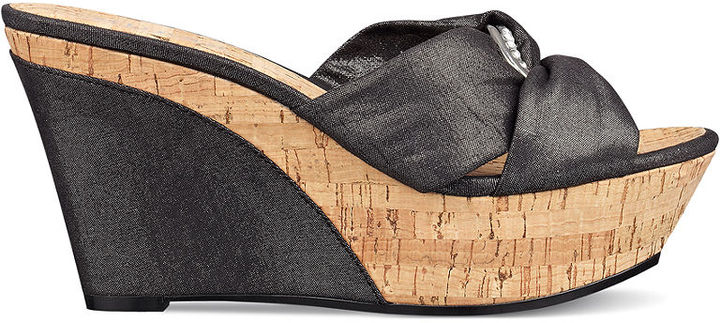 GUESS Women's Shoes, Balasi Wedges