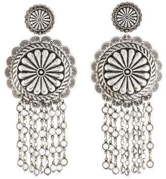 Janis Savitt Crystal Chandelier Earrings