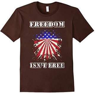 Patriotic shirt - USA FLAG: FREEDOM ISN'T FREE tshirt
