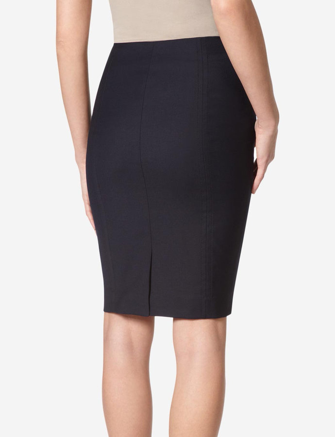 The Limited Stitched Seam Pencil Skirt