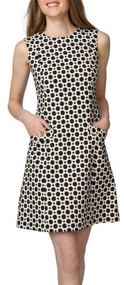 Women's Donna Morgan Print A-Line Dress $138 thestylecure.com