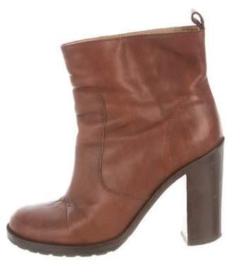 MM6 MAISON MARGIELA Round-Toe Ankle Boots