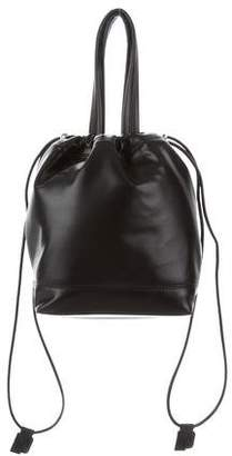 Paco Rabanne Leather Bucket Bag