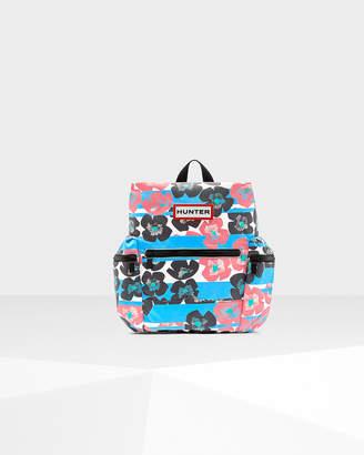 Hunter Floral Stripe Nylon Mini Backpack