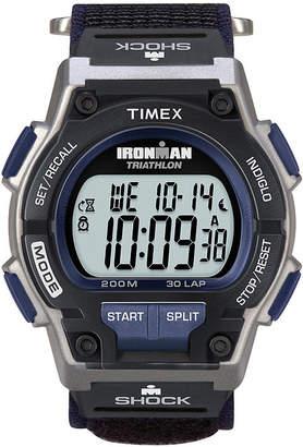 Timex Ironman Endure Mens Black Nylon Fast Strap 30-Lap Watch T5K1989J