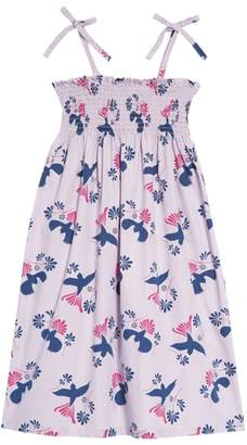 Tea Collection Braided Strap Dress