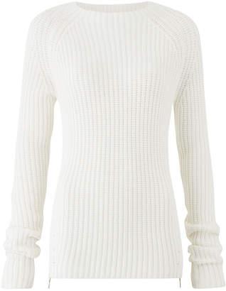 Amanda Wakeley Ecru Chunky Knitted Sweater