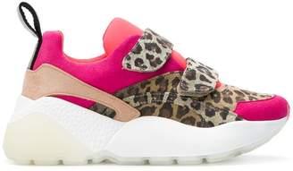 Stella McCartney flatform leopard sneakers